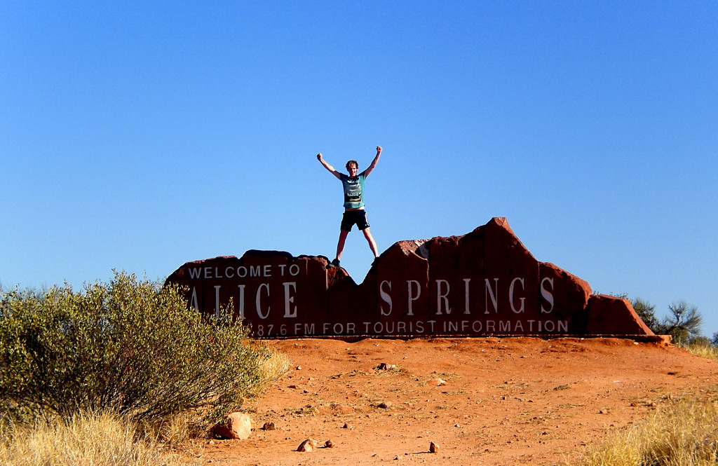 Alice Springs Outback Australien