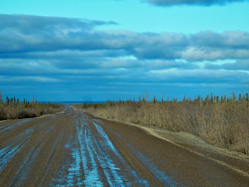 Dempster Highway sunset