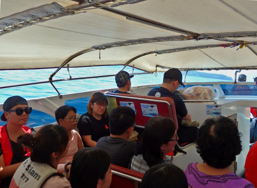 Speedboat Thailand Insel
