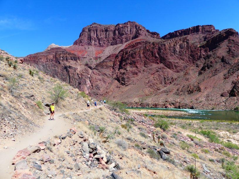Aufstieg Grand Canyon Wanderung