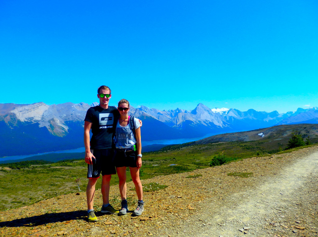 Maligne Lake Bald Hills Trail