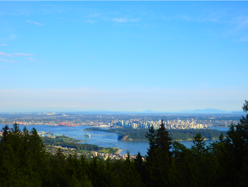 Cypress Mountain Vancouver Lookout