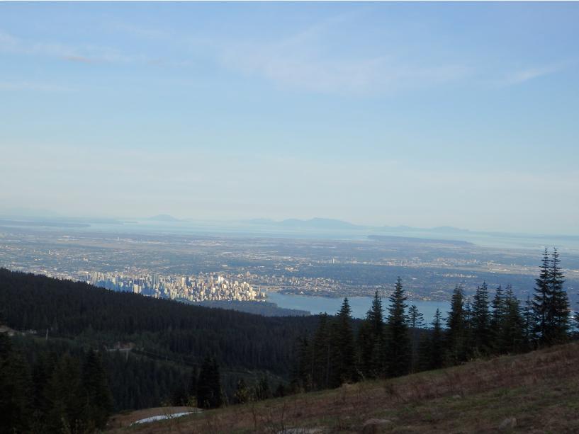 Cypress Mountain Blick auf Vancouver