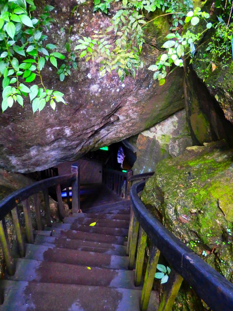 Eingang Paradise Cave Phong Nha Ke Bang