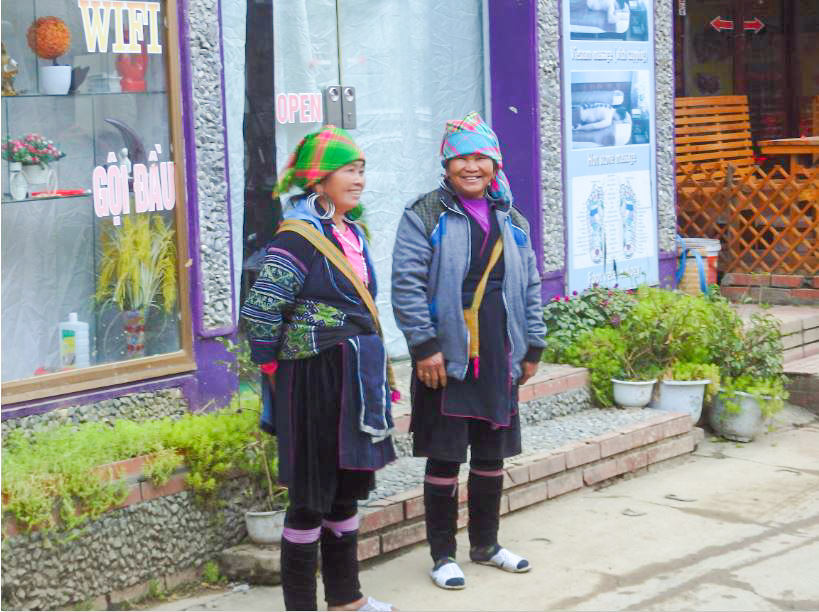 Frauen in Sapa