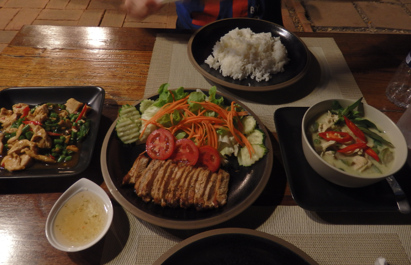 Local food Ayutthaya