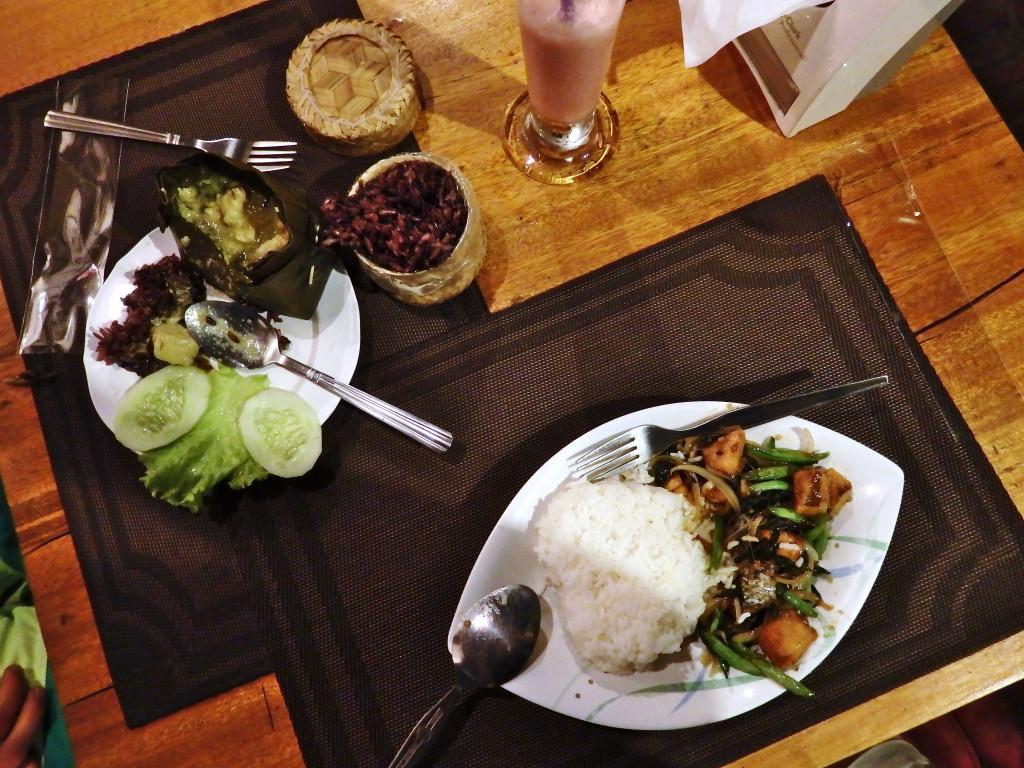 Lokales Essen Luang Prabang