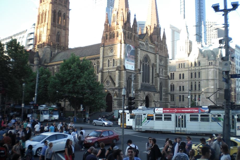 Flinders Street Melbourne