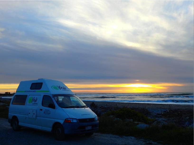 freedom campsite Neuseeland
