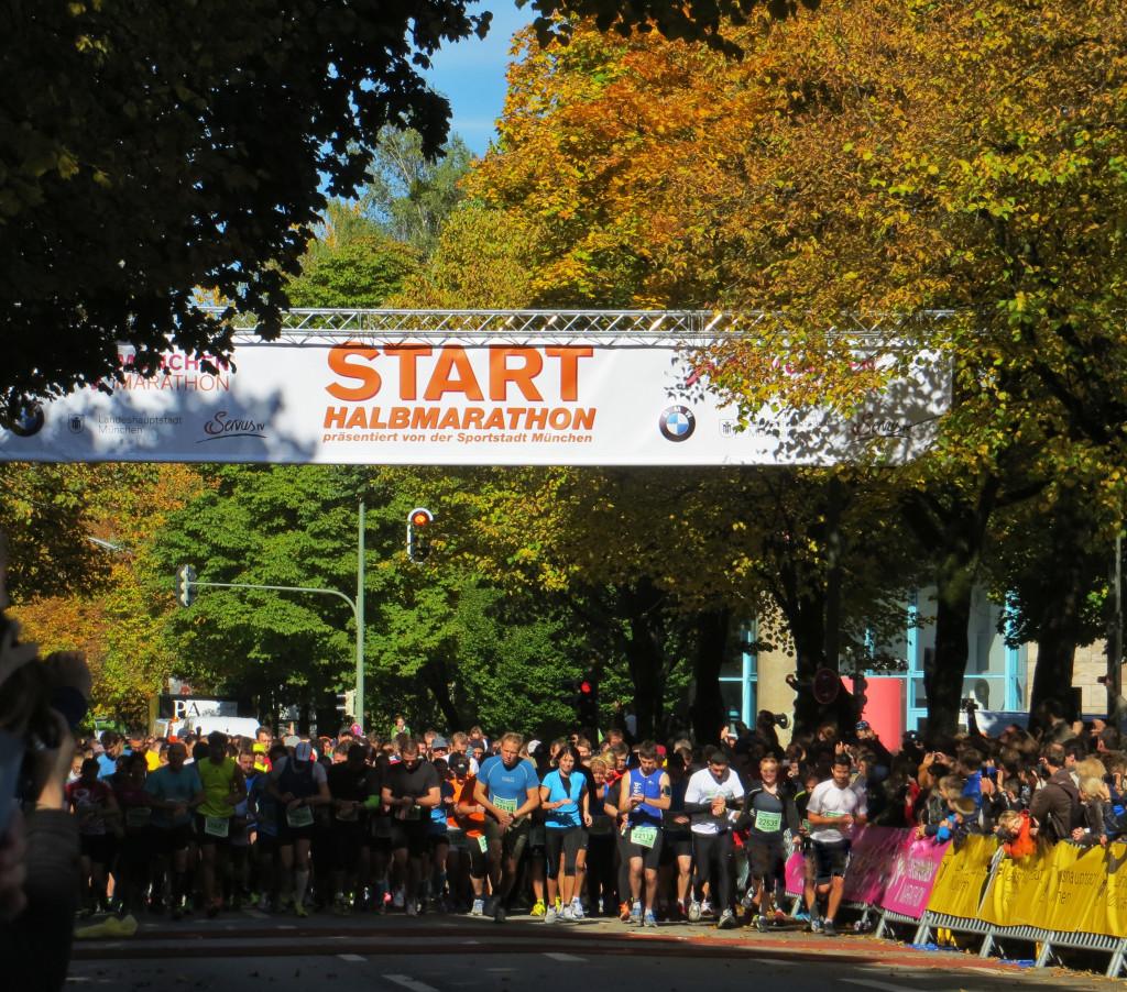 Start Halbmarathon München