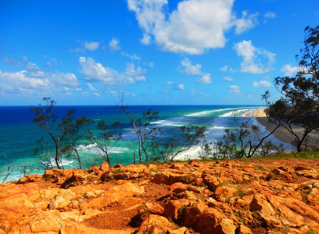 Indian Head Aussicht Fraser Island