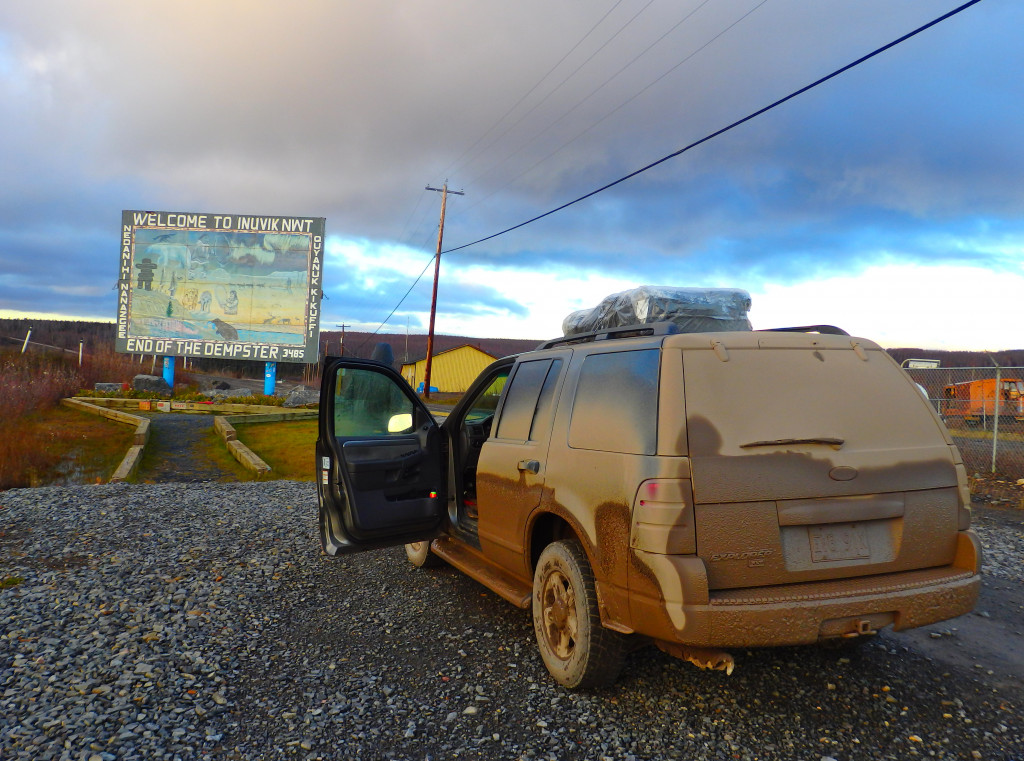 Inuvik End of the Dempster Highway