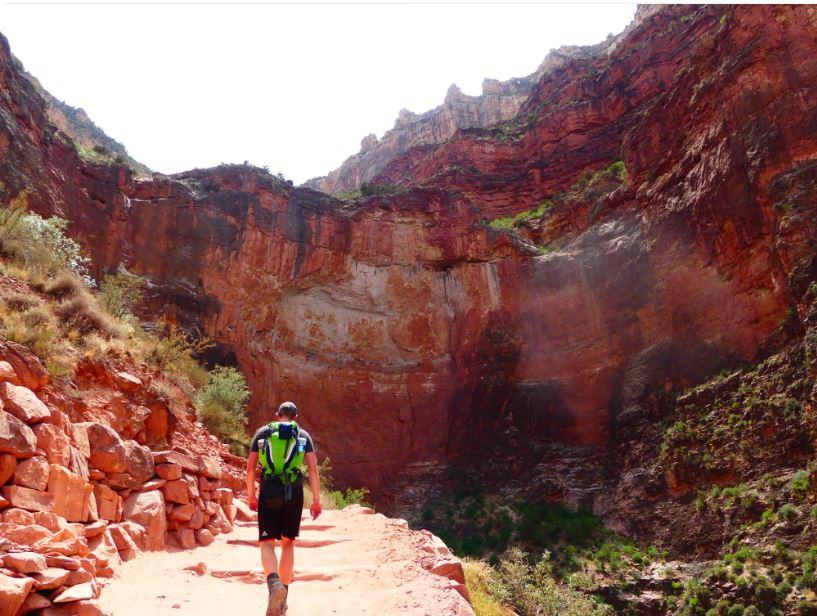 kilometer 23 Grand Canyon Wanderung