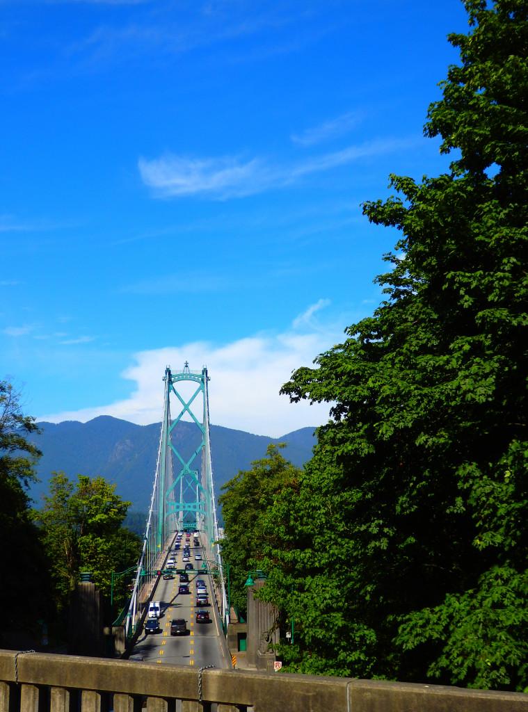 Lions Gate Bridge Stanley Park
