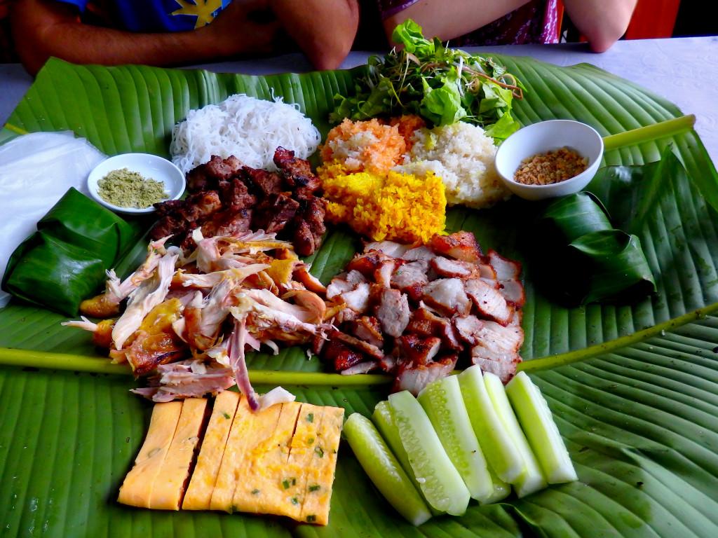 Mittagessen Vietnam