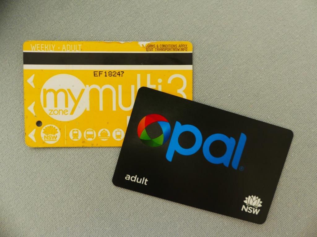 Opal Card mymultipass Sydney