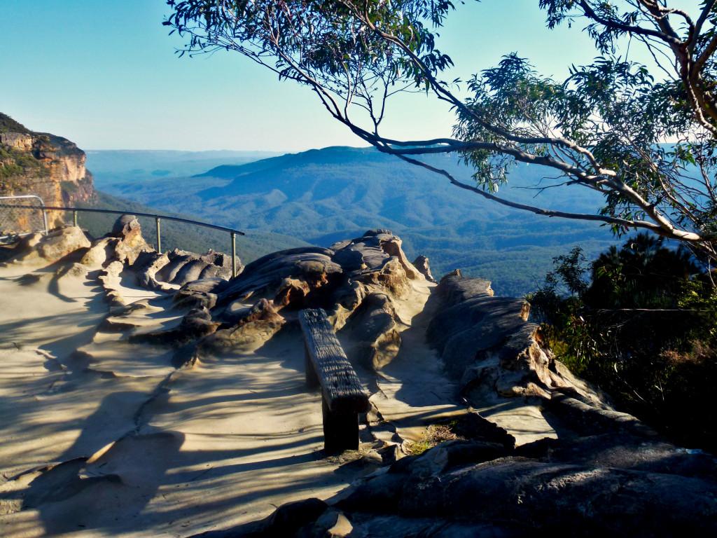 Princes Rock Lookout Blue Mountains
