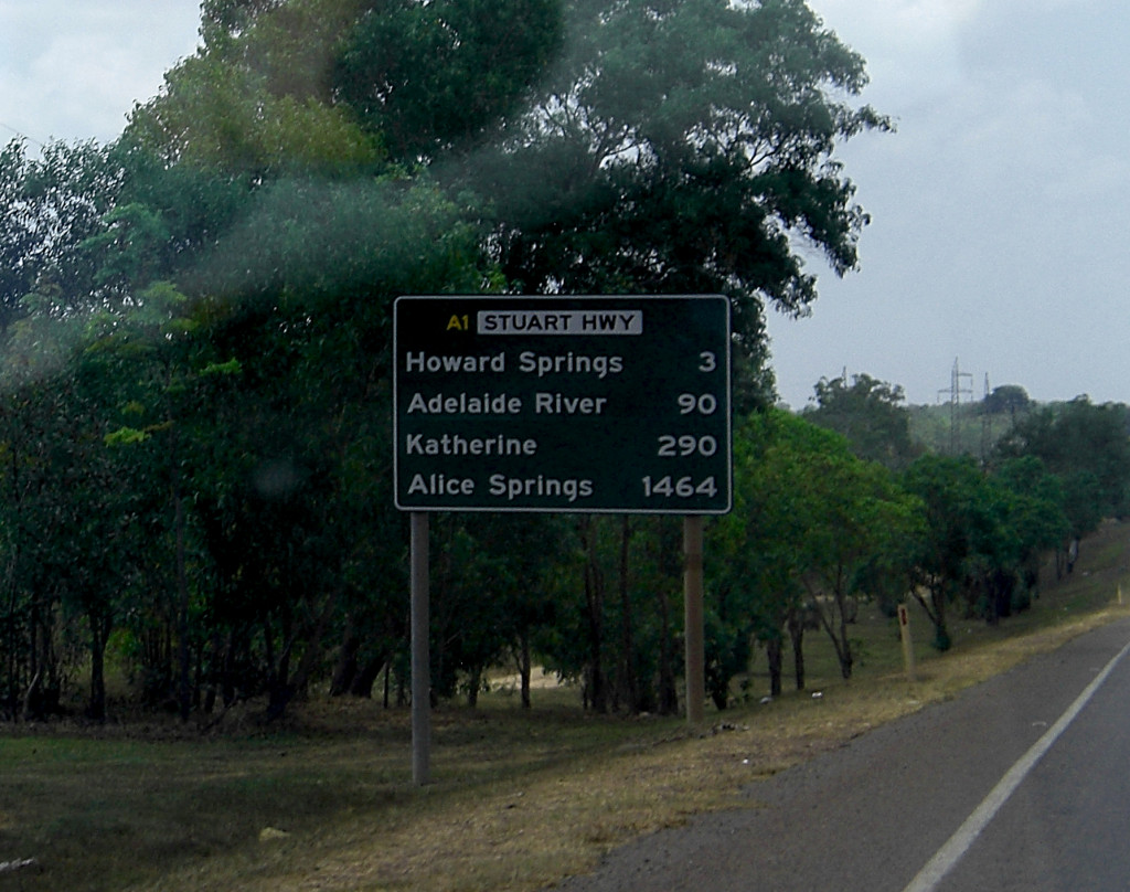 Roadsign Australien