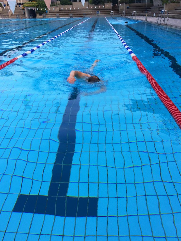 Schwimmen Schwimmbad
