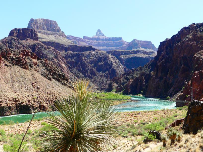 silver bridge Grand Canyon