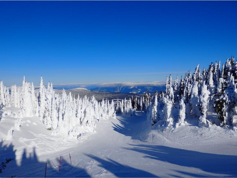 Skigebiet Sun Peaks British Columbia