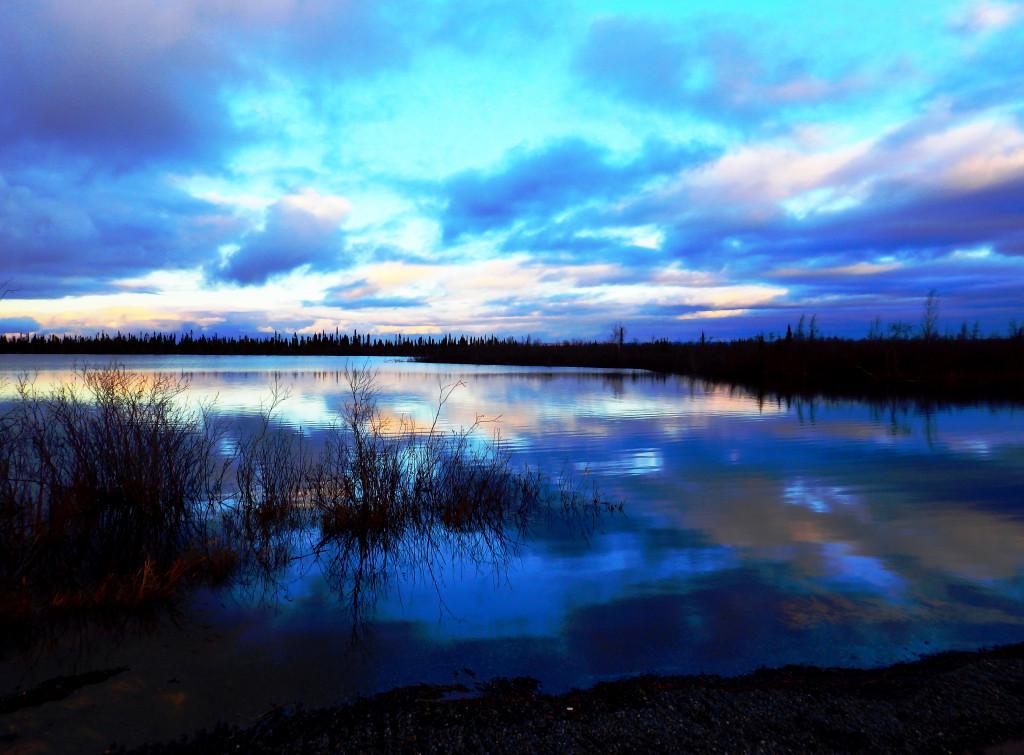 Sonnenuntergang Northwest Territories Inuvik