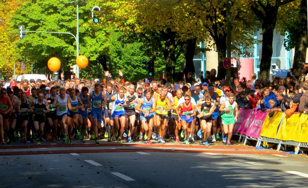 Start Erster Halbmarathon