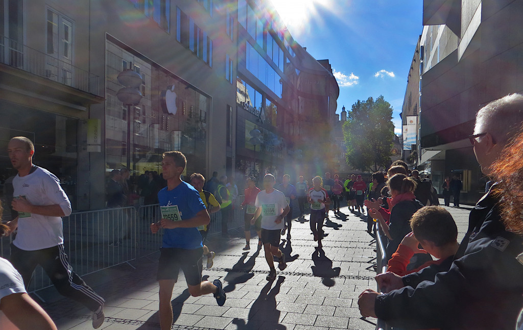 Strecke Marienplatz
