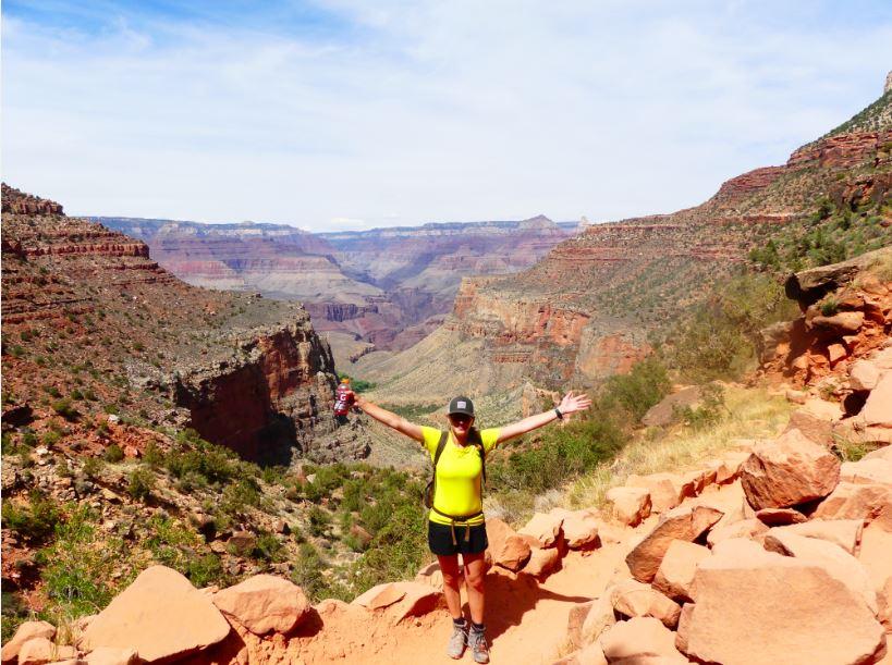 Tageswanderung zum Colorado River geschafft