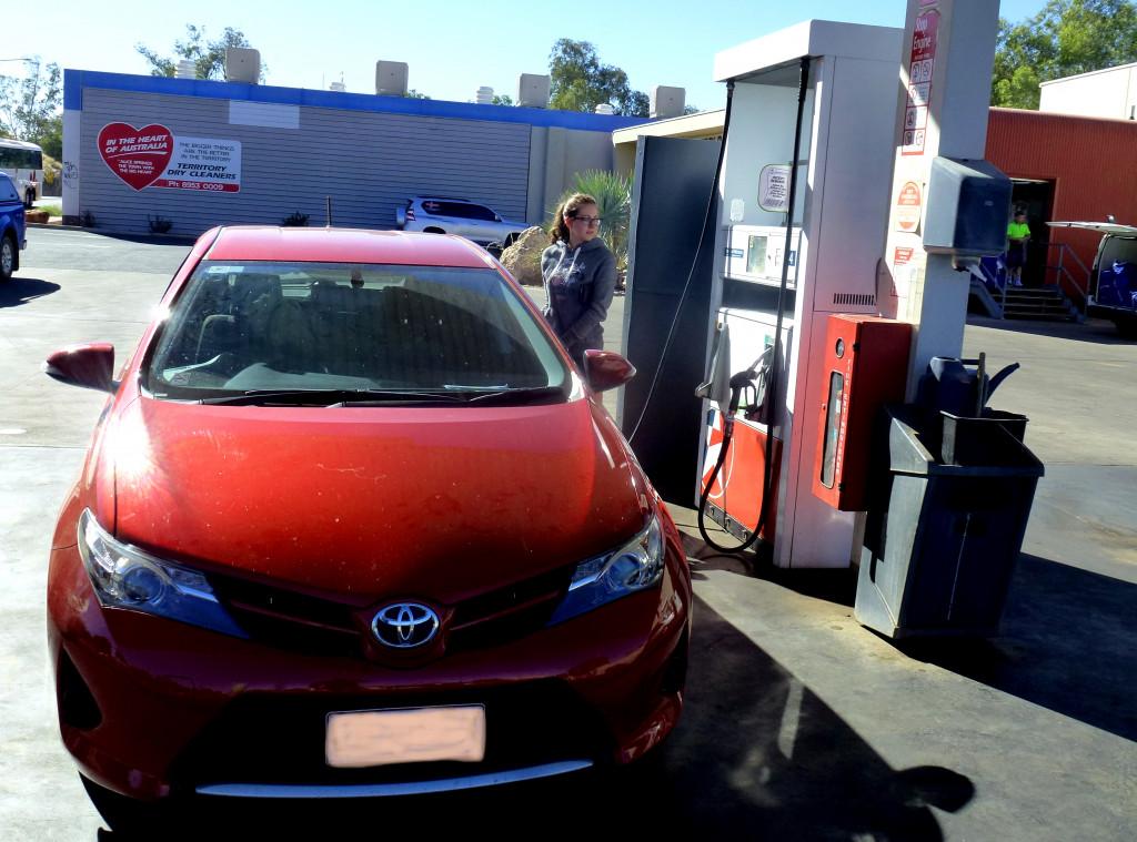 Tankstelle Outback