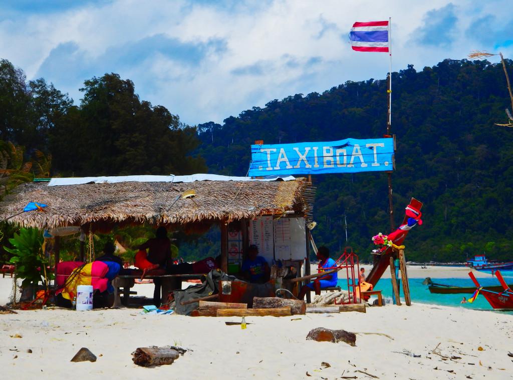 Taxiboot Koh Lipe schönsten Inseln Thailand