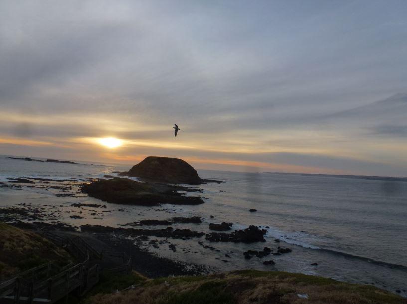 Sonnenuntergang bei The Nobbies