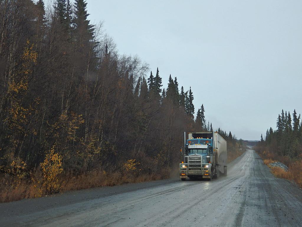 Truck Dempster Highway