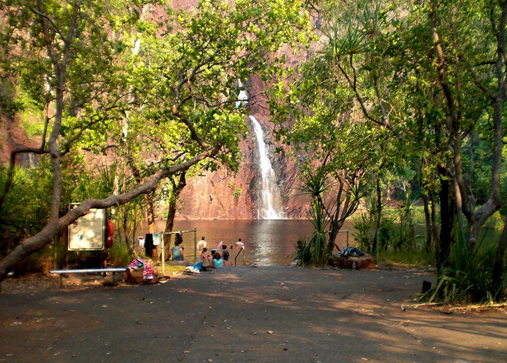 Wangi Falls Litchfield Outback Australien
