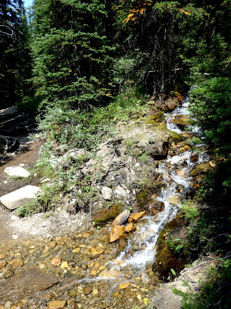 Wasserfälle unterwegs Helen Lake Trail