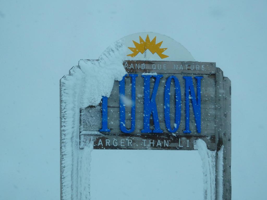 Yukon Northwest Territories border
